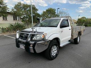 2005 Toyota Hilux KUN26 SR White 4 Speed Automatic Single Cab.