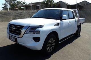 2019 Nissan Patrol Y62 TI White Automatic Dual Cab.