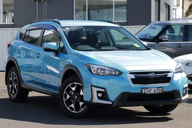 Demo Subaru XV MY20 Hybrid Brookvale, 2020 Subaru XV MY20 Hybrid Lagoon Blue Continuous Variable Wagon