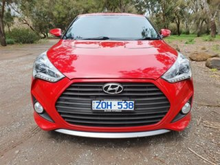 2013 Hyundai Veloster FS2 SR Turbo Red Sports Automatic Hatchback
