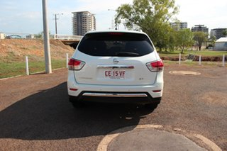 2015 Nissan Pathfinder R52 MY15 ST X-tronic 2WD White 1 Speed Continuous Variable Wagon