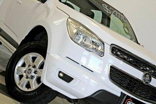 2012 Holden Colorado RG LT (4x4) White 6 Speed Automatic Crew Cab Pickup.