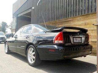 2002 Mitsubishi Verada KJ Series 2 GTV Ei Black 5 Speed Sports Automatic Sedan