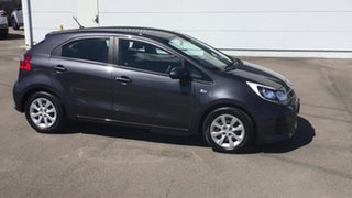 2016 Kia Rio UB MY16 S Grey 4 Speed Sports Automatic Hatchback