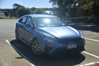 2020 Kia Cerato BD MY21 GT DCT Horizon Blue 7 Speed Sports Automatic Dual Clutch Hatchback.