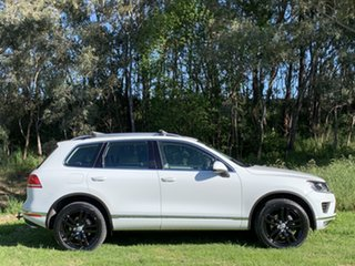 2015 Volkswagen Touareg 7P MY15 150TDI Tiptronic 4MOTION White 8 Speed Sports Automatic Wagon