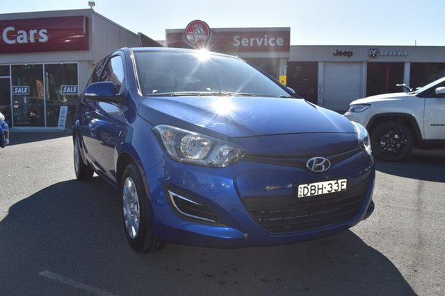Used Hyundai i20 PB MY15 Active, 2015 Hyundai i20 PB MY15 Active Blue 6 Speed Manual Hatchback
