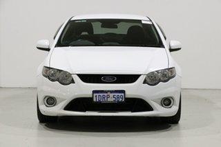 2011 Ford Falcon FG Upgrade XR6 White 6 Speed Auto Seq Sportshift Sedan.