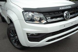2019 Volkswagen Amarok 2H MY19 TDI550 4MOTION Perm Core White 8 Speed Automatic Utility.
