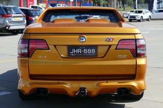2009 Holden Special Vehicles Maloo E2 Series R8 Orange 6 Speed Manual Utility