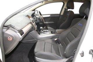 2011 Ford Falcon FG Upgrade XR6 White 6 Speed Auto Seq Sportshift Sedan