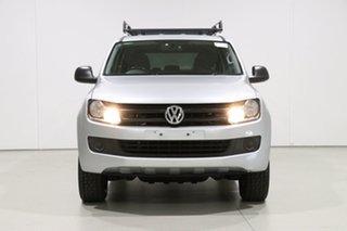 2016 Volkswagen Amarok 2H MY16 TDI420 Core Edition (4x4) Silver 8 Speed Automatic Dual Cab Utility.