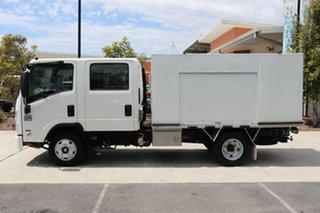 2011 Isuzu NNR 200 Crew Cab White Automatic Box Body