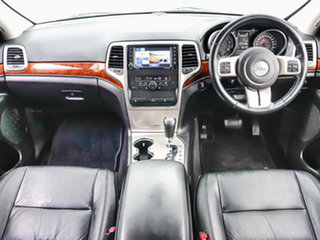 2012 Jeep Grand Cherokee WK MY13 Limited (4x4) Silver 5 Speed Automatic Wagon