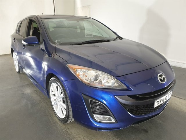 Used Mazda 3 BL10L1 SP25 Activematic Maryville, 2010 Mazda 3 BL10L1 SP25 Activematic Blue 5 Speed Sports Automatic Hatchback
