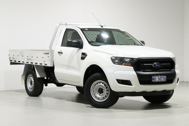 Used Ford Ranger PX MkII XL 3.2 (4x4), 2015 Ford Ranger PX MkII XL 3.2 (4x4) White 6 Speed Automatic Cab Chassis