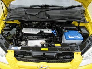 2004 Hyundai Getz TB GL Yellow 4 Speed Automatic Hatchback