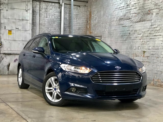 Used Ford Mondeo MD Ambiente Mile End South, 2016 Ford Mondeo MD Ambiente Blue 6 Speed Sports Automatic Dual Clutch Wagon