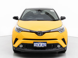 2018 Toyota C-HR NGX10R Update Koba (2WD) Yellow Continuous Variable Wagon.