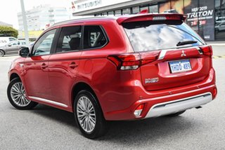 2019 Mitsubishi Outlander ZL MY19 PHEV AWD ES ADAS Red 1 Speed Automatic Wagon Hybrid.