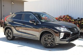 2020 Mitsubishi Eclipse Cross YA MY20 Black Edition 2WD Black 8 Speed Constant Variable Wagon.