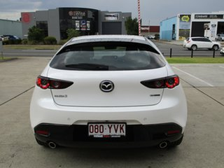 2019 Mazda 3 BP2HLA G25 SKYACTIV-Drive GT Snowflake White Pearl 6 Speed Sports Automatic Hatchback.