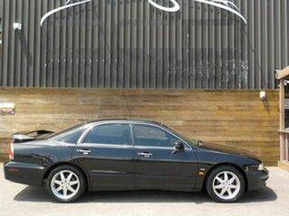 2002 Mitsubishi Verada KJ Series 2 GTV Ei Black 5 Speed Sports Automatic Sedan.