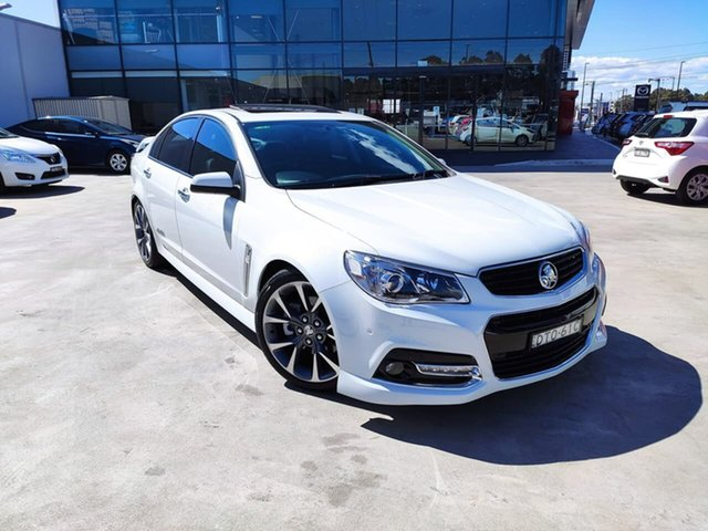 Used Holden Commodore VF MY14 SS V, 2013 Holden Commodore VF MY14 SS V White 6 Speed Sports Automatic Sedan