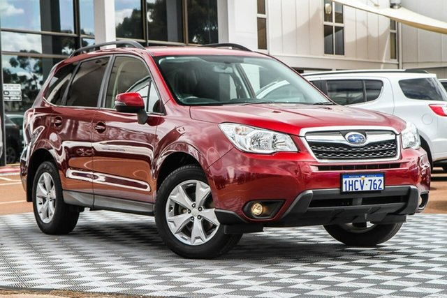 Used Subaru Forester S4 MY14 2.5i-L Lineartronic AWD, 2014 Subaru Forester S4 MY14 2.5i-L Lineartronic AWD Red 6 Speed Constant Variable Wagon