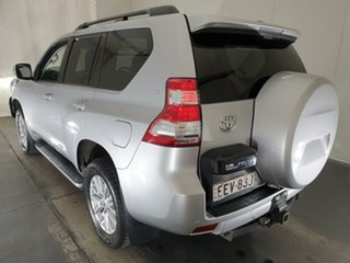 2014 Toyota Landcruiser Prado KDJ150R MY14 VX Silver 5 Speed Sports Automatic Wagon
