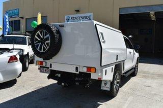 2015 Toyota Hilux GUN126R SR5 (4x4) White 6 Speed Manual X Cab Utility.