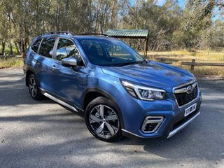 2020 Subaru Forester S5 MY20 Hybrid S CVT AWD Blue 7 Speed Constant Variable Wagon Hybrid.