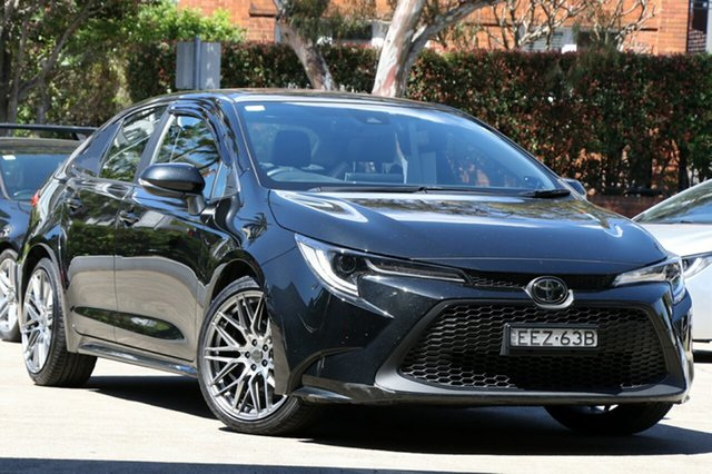 Pre-Owned Toyota Corolla Mzea12R ZR Mosman, 2019 Toyota Corolla Mzea12R ZR Ink 10 Speed Constant Variable Sedan