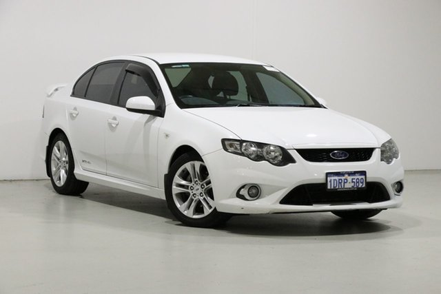 Used Ford Falcon FG Upgrade XR6, 2011 Ford Falcon FG Upgrade XR6 White 6 Speed Auto Seq Sportshift Sedan