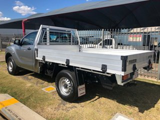 2017 Mazda BT-50 MY17 Update XT Hi-Rider (4x2) Silver 6 Speed Manual Cab Chassis