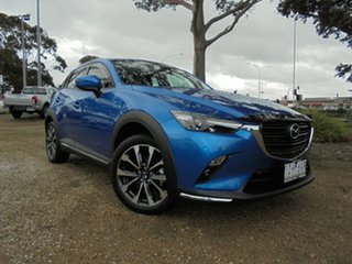 2019 Mazda CX-3 DK4W7A sTouring SKYACTIV-Drive i-ACTIV AWD Blue 6 Speed Sports Automatic Wagon.