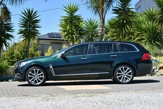 2016 Holden Calais VF II MY16 V Sportwagon Green 6 Speed Sports Automatic Wagon