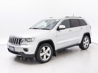 2012 Jeep Grand Cherokee WK MY13 Limited (4x4) Silver 5 Speed Automatic Wagon.