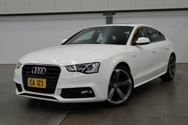 Used Audi A5 8T MY15 2.0 TFSI Quattro Castle Hill, 2015 Audi A5 8T MY15 2.0 TFSI Quattro White 7 Speed Auto Direct Shift Coupe