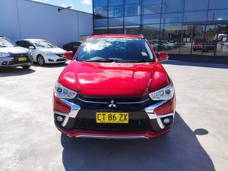 2018 Mitsubishi ASX XC MY19 ES 2WD ADAS Red 1 Speed Constant Variable Wagon