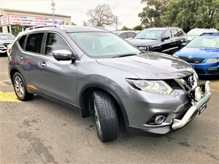 2015 Nissan X-Trail T32 Ti X-tronic 4WD Silver 7 Speed Constant Variable Wagon.