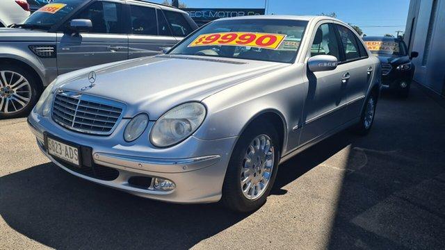 Used Mercedes-Benz E-Class W211 E320 Elegance Prospect, 2004 Mercedes-Benz E-Class W211 E320 Elegance Silver 5 Speed Sports Automatic Sedan