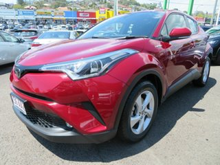 2018 Toyota C-HR NGX10R S-CVT 2WD Red 7 Speed Constant Variable Wagon.
