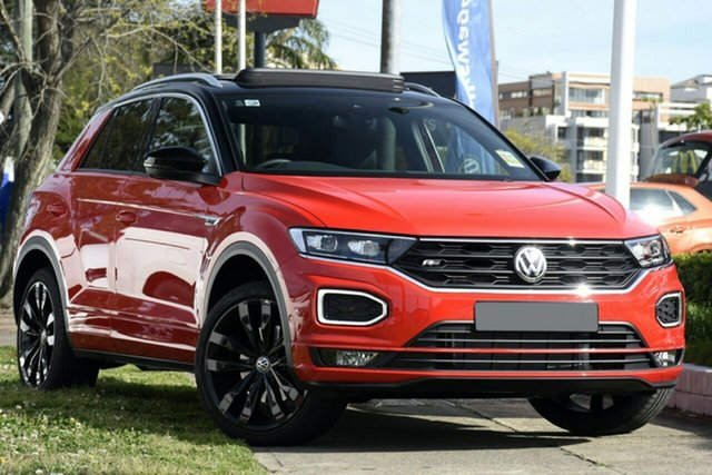 New Volkswagen T-ROC A1 MY20 140TSI DSG 4MOTION X Liverpool, 2020 Volkswagen T-ROC A1 MY20 140TSI DSG 4MOTION X Flash Red & Black Roof 7 Speed