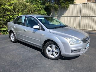 2006 Ford Focus LS LX Silver 4 Speed Sports Automatic Sedan.