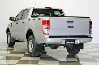 2015 Ford Ranger PX XL 2.2 Hi-Rider (4x2) Silver 6 Speed Automatic Crew Cab Pickup