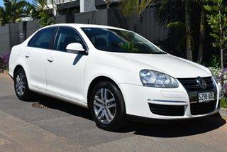 2008 Volkswagen Jetta 1KM MY08 FSI White 6 Speed Manual Sedan