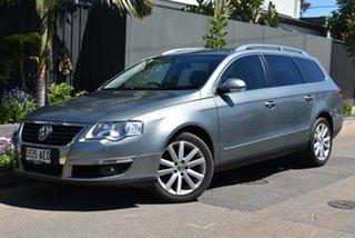 2009 Volkswagen Passat Type 3C MY09 125TDI DSG Grey 6 Speed Sports Automatic Dual Clutch Wagon.