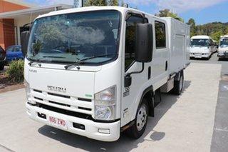2011 Isuzu NNR 200 Crew Cab White Automatic Box Body.