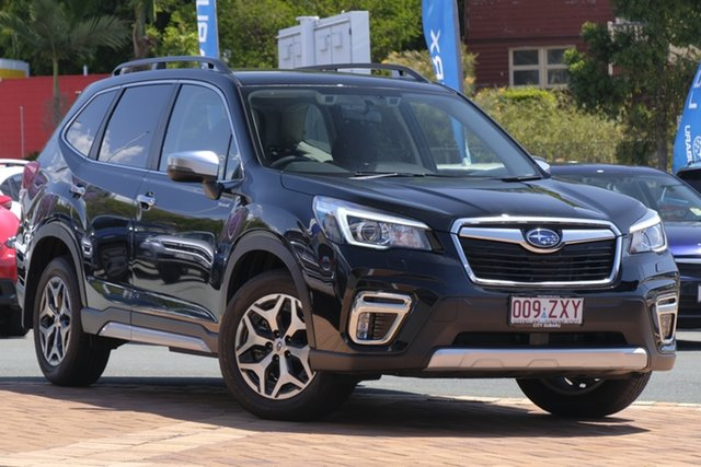 Used Subaru Forester S5 MY20 Hybrid L CVT AWD, 2019 Subaru Forester S5 MY20 Hybrid L CVT AWD Black 7 Speed Constant Variable Wagon Hybrid